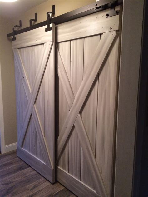 barn door closet barn doors for closets that present rustic outlooks in