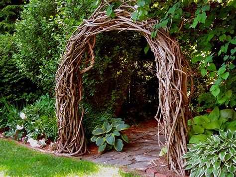 Garden Arch Vines Sometimes You Don T Even Want A House In The Garden