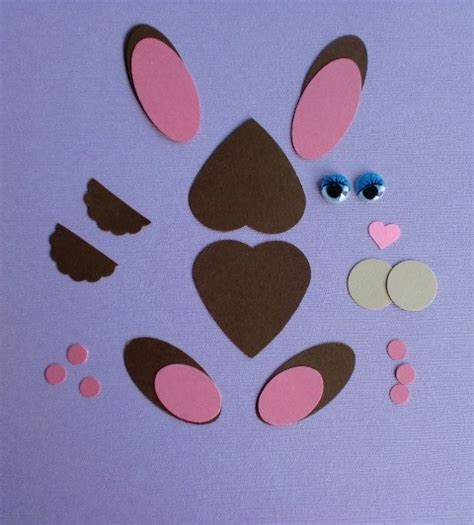 paper punch craft designs hippity hoppity paper punch bunny think crafts by