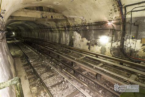 voies du m 233 tro 224 la station porte des lilas cin 233 ma boreally