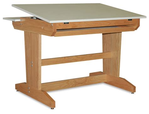 free drafting table plans wood work drafting table plans free pdf plans