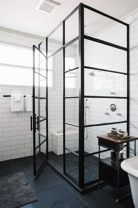 bathroom shower enclosure best 25 industrial showers ideas on