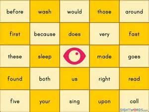 make bingo cards with words best 25 sight word bingo ideas on