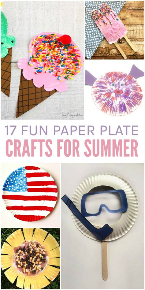 summer paper crafts for 17 paper plate crafts for summer glue sticks and