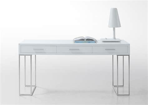 sheldon modern white lacquer desk ebay