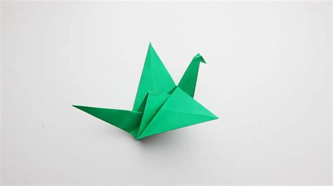origami bird how to green origami birds 2016