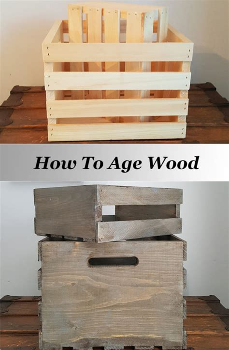 how to wood for woodworking how to age wood for a weathered look