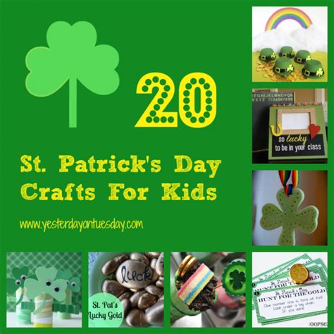 st patricks day craft st s day crafts archives yesterday on tuesday