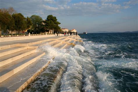 sea organ croatia the luminous sea organ in croatia