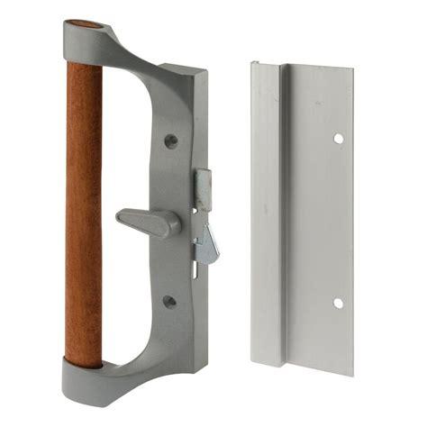 patio door handle home depot prime line sliding door handle set aluminum and diecast c