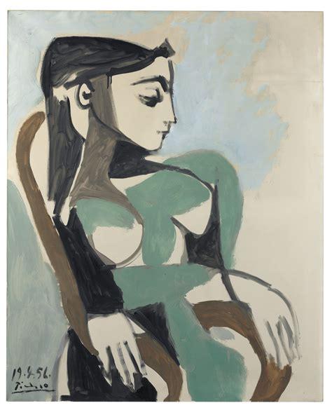 picasso paintings pdf pablo picasso 1881 1973 femme dans un fauteuil