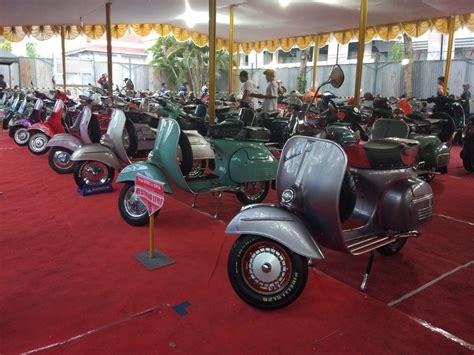 Modifikasi Vespa Jogja by Indonesia Scooter Festival Jogja Banjir Vespa Gilamotor