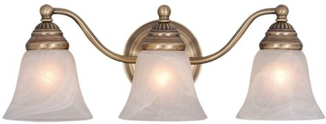 antique brass bathroom light fixtures vaxcel vl35123a standford antique brass 3 light bathroom