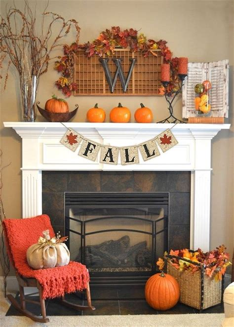 fireplace decorations for 25 best fall fireplace decor ideas on