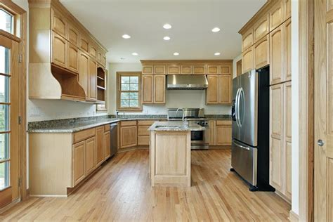 hardwood kitchen cabinets 53 charming kitchens with light wood floors