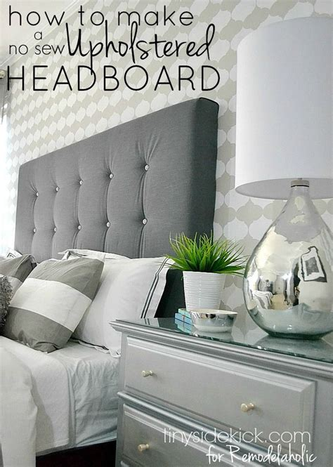 how to make a headboard out of wood and fabric 22524