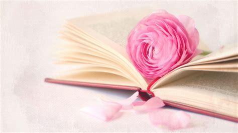 flower picture book fleur avec un livre fonds d 233 cran 1366x768