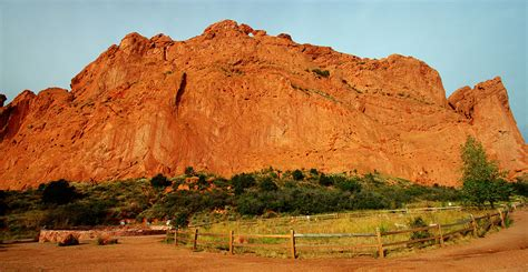 Garden Of The Gods Fall High Dynamic Range Photography By Carl Roessler