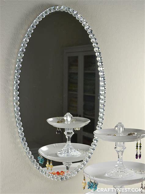 mirror craft projects home dzine craft ideas rev mirror