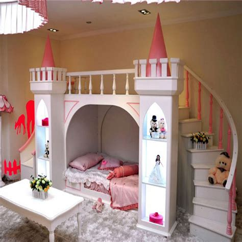 castle bunk beds for continental pine wood bunk beds children bed castle