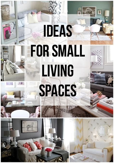 small space home decor ideas for small living spaces