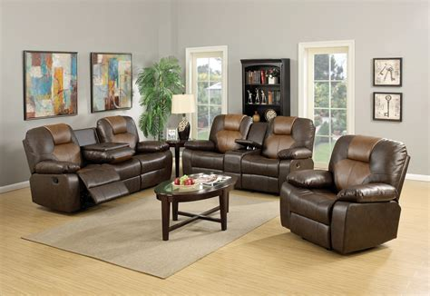 two tone reclining sofa two tone reclining leather sofa and loveseat mac s furniture