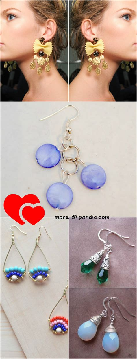 jewelry you can make 20 stylish diy earrings you can make for next to nothing