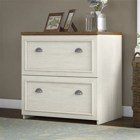 white file cabinet wood bush fairview 2 drawer lateral wood file white filing cabinet ebay