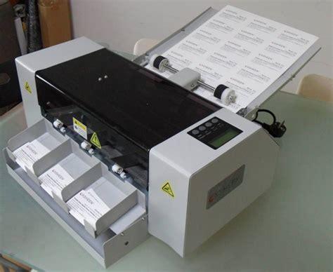 card equipment xh a3 automatic business card cutter shanghai xsheen