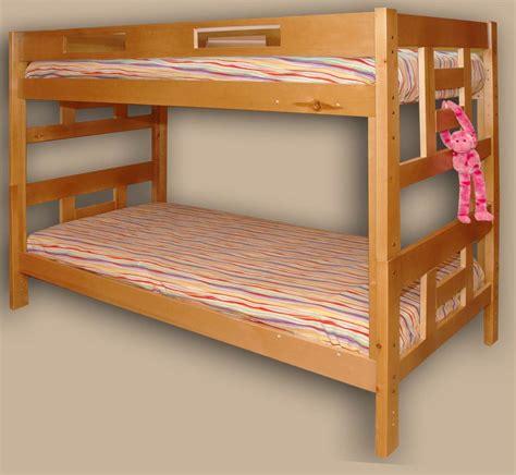 bunk bed pics hardwood bunk beds