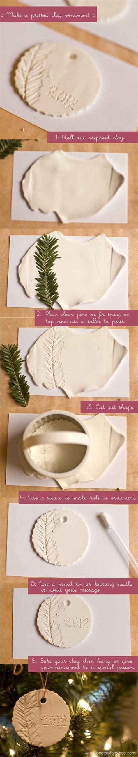 how to make clay ornaments how to make polymer clay ornaments one crafty place