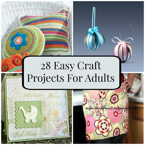 crafts for adults 28 easy craft projects for adults favecrafts
