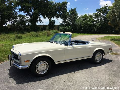 Mercedes Of The Palm Beaches by 1968 Mercedes 250 Sl Palm Classics