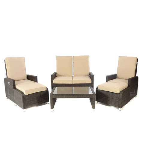 reclining sofa set kensington club brown hb 6 reclining sofa set