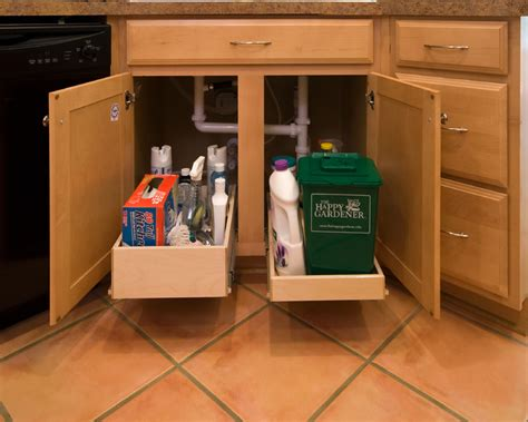 kitchen sink pull out storage shelfgenie pull out shelves for the sink kitchen