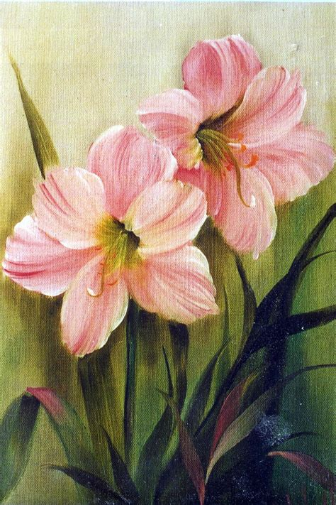 bob ross painting flowers bob ross floral packet amaryllis floral packets