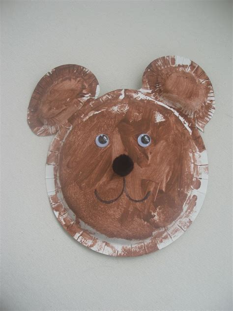 teddy crafts for 17 best images about preschool crafts on