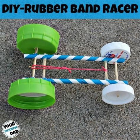 rubber band crafts for 88 best a build it cars images on