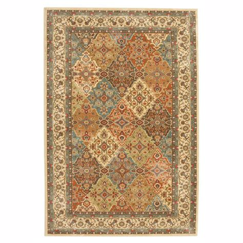 4 ft area rugs home decorators collection almond buff 4 ft x 6 ft