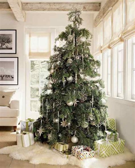 decorating a white flocked tree flocked tree a wintry look of your