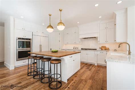 butcherblock kitchen island white kitchen island with butcher block transitional kitchen
