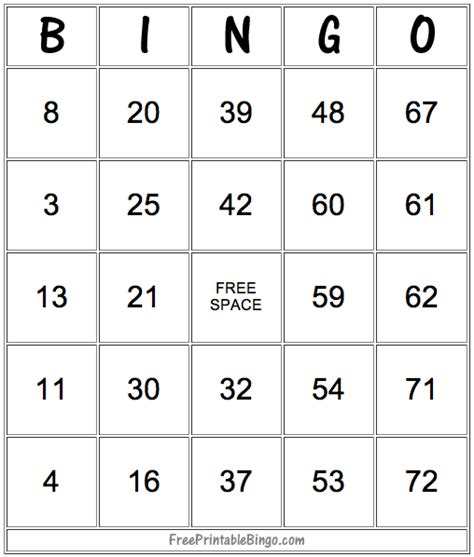 make a bingo card free 49 printable bingo card templates tip junkie