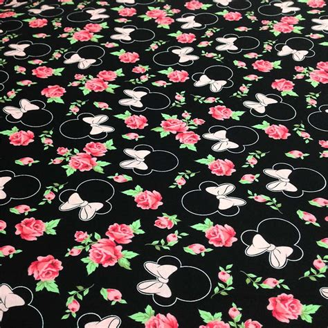 minnie mouse knit fabric get cheap minnie mouse fabric aliexpress