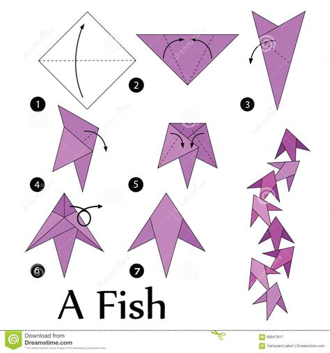 how to make origami fish origami fish tutorial www imgkid the image kid has it
