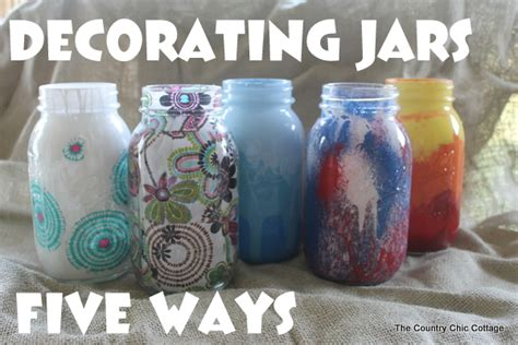 decorate jars for decorating jars for myideasbedroom