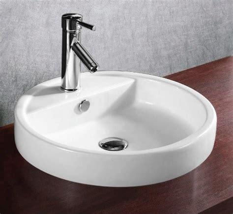 shallow kitchen sink shallow modern circular self ceramic sink modern