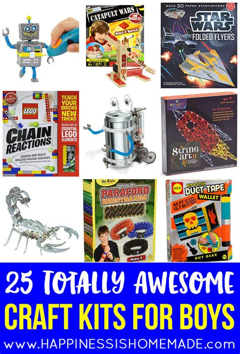 craft ideas for boys the best gift ideas for boys ages 8 11 happiness is