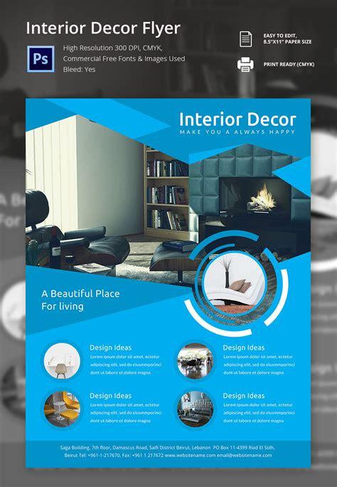 interior design flyers interior design flyer template 25 free psd ai vector