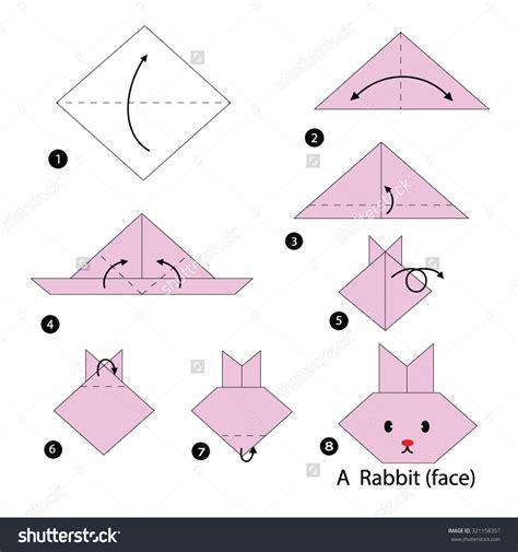 intermediate origami diagrams origami rabbit yoshizawa origami