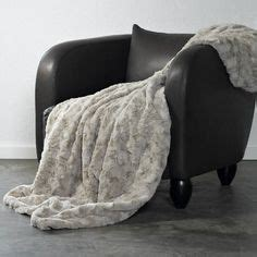 plaid en fausse fourrure haut de gamme phoque fibres ultra fines plaids et couvre lits en